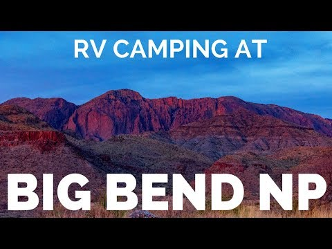 🌵Hike Big Bend National Park, Texas | 🤯Full TIme RV Camping on Mexican Border