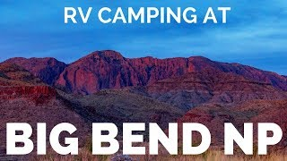 🌵Hike Big Bend National Park, Texas   🤯Full TIme RV Camping on Mexican Border