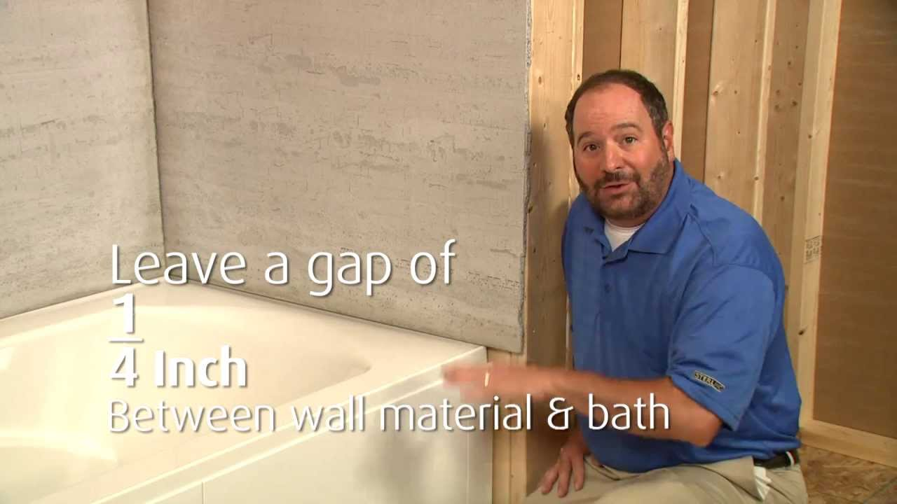 Lawson Bath Installation - YouTube