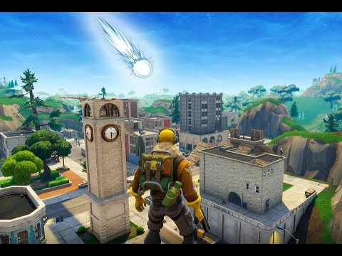 PROOF THE FORTNITE COMET IS COMING (Fortnite Battle Royale)