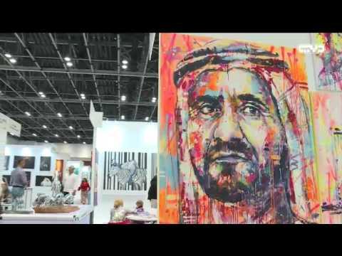"""أخبار الإمارات – """"فنون العالم دبي"""" يجمع القارات الخمس على ..."""