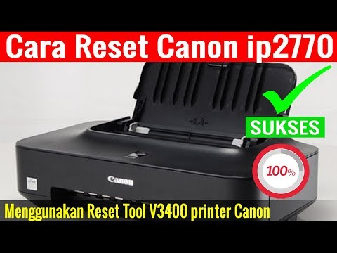 Canon 2770 printer blinks 13 times or blinks 16 times, an easy way to fix it.