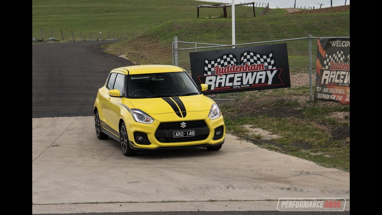 Luddenham Raceway now open – full track lap with 2018 Suzuki Swift