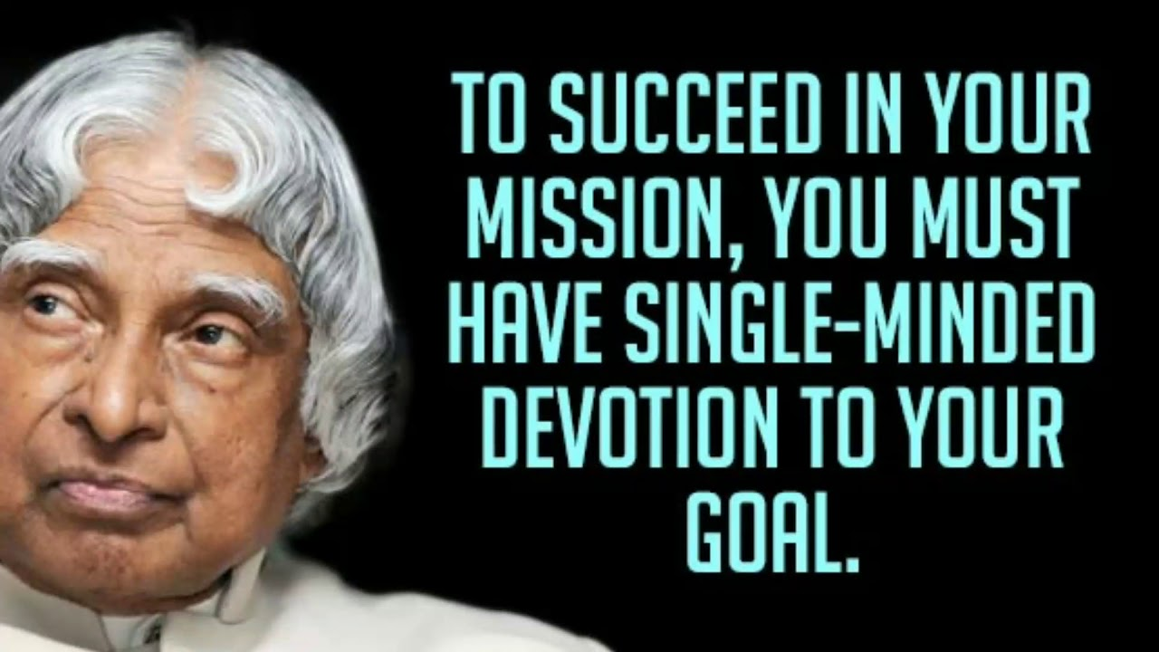 Happy Birthday Missile Man Of India 100 Quotes Of A P J Abdul Kalam Biography In Description Youtube