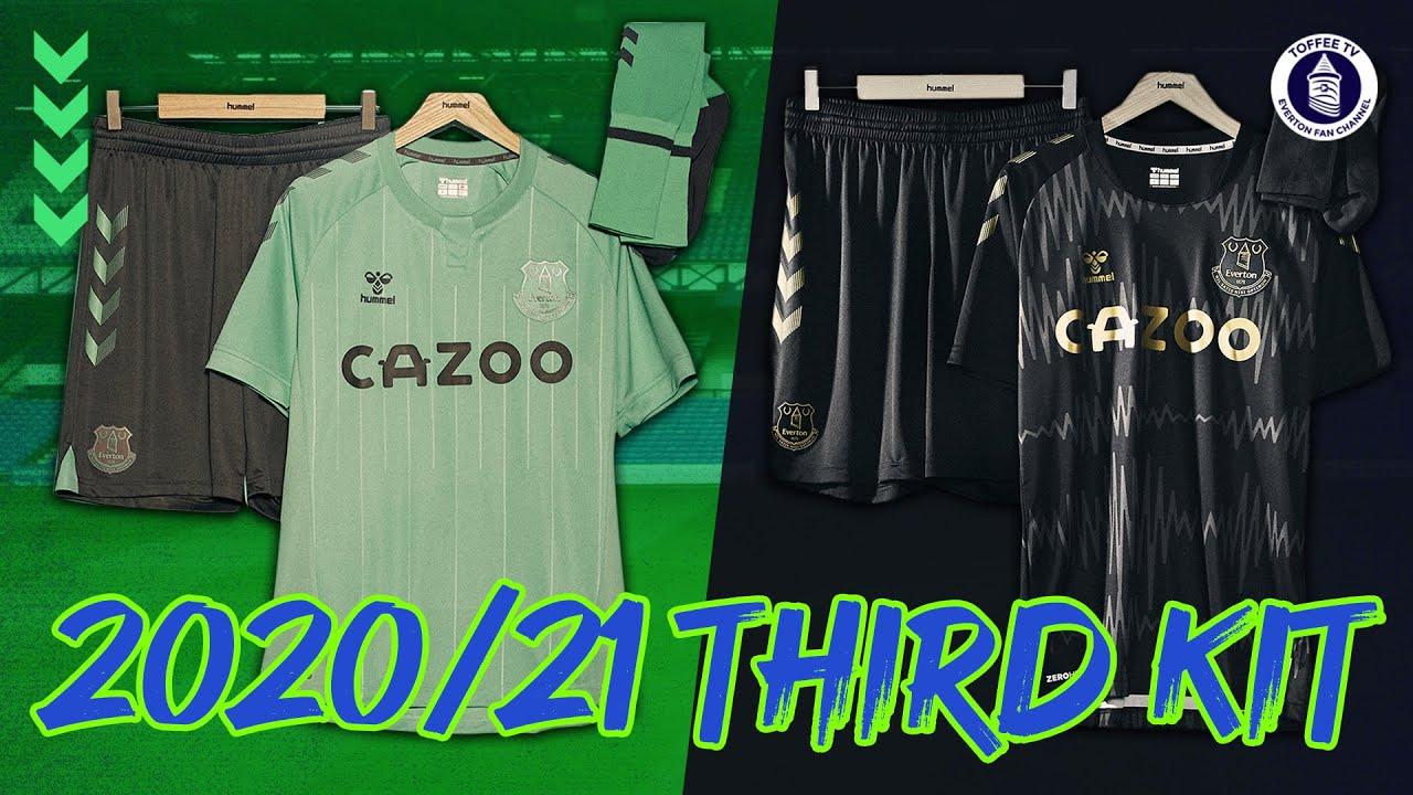 Everton Third Kit 2020 21 Unveiled Youtube
