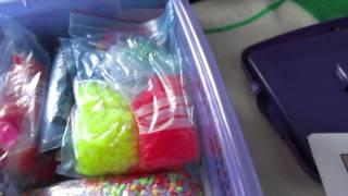 mis cajas de hama beads ^^
