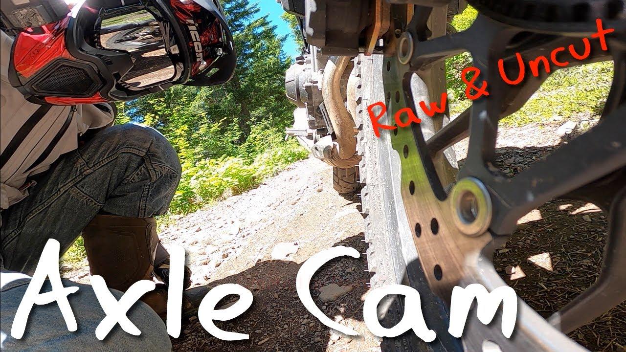 2019 Honda CB500X Axle Cam Off Road on Stock Suspension   Oregon Motorcycle 2020