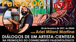 PALEOZOOBR LIVE: DIÁLOGOS DE UM ARTISTA-CIENTISTA NA PROMOÇÃO DO CONHECIMENTO PALEONTOLÓGICO