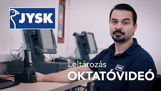 JYSK Oktatóvideó - Szkennelés