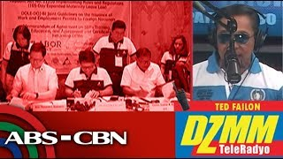 Labor chief seeks wider authority over foreign workers | DZMM