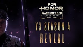 For Honor: Warrior's Den LIVESTREAM October 31 2019 | Ubisoft [NA]