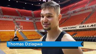 OSU Basketball - Boone and Dziagwa discuss Cowboys' start
