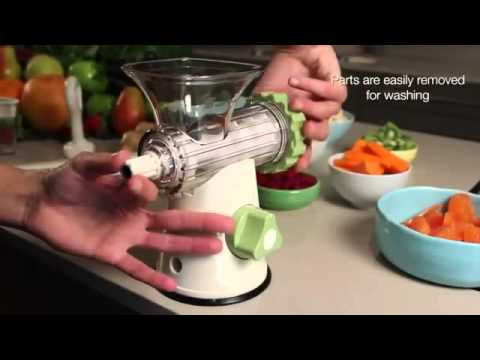 Lurch Green Power Cold Press Juicer