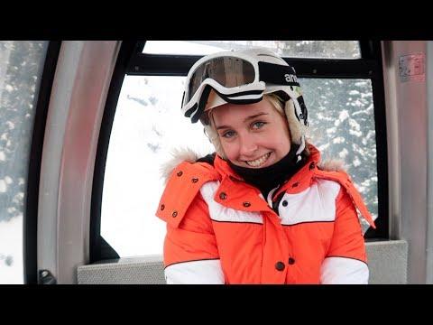 a realistic private school ski trip