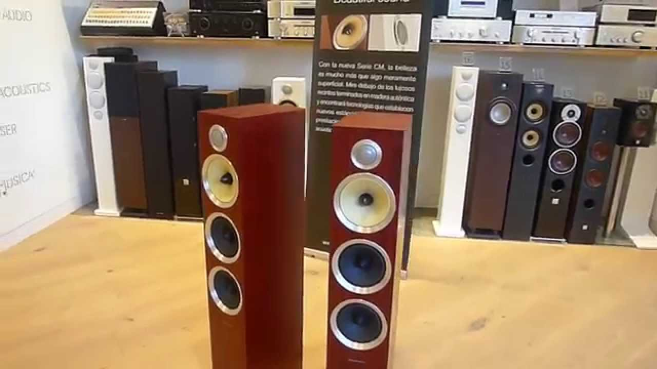 Bowers Wilkens Altavoces B&w Cm8 S2 - Youtube