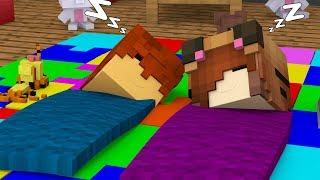 Minecraft Daycare - SLEEP OVER !? (Minecraft Roleplay)