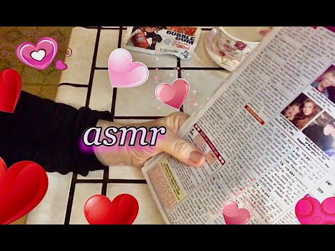 Quiet ASMR 🎧.  Reading the Personal Ads from The Globe Tabloid Magazine