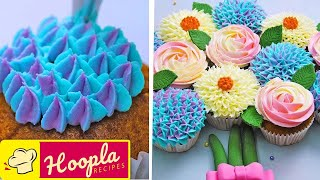 Creative Cake Decorating Ideas | Best Cupcake Recipe Tutorial | Hoopla Recipes