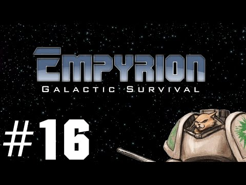 Empyrion Gameplay / Let's Play - Small Vessel Construction - Part 16