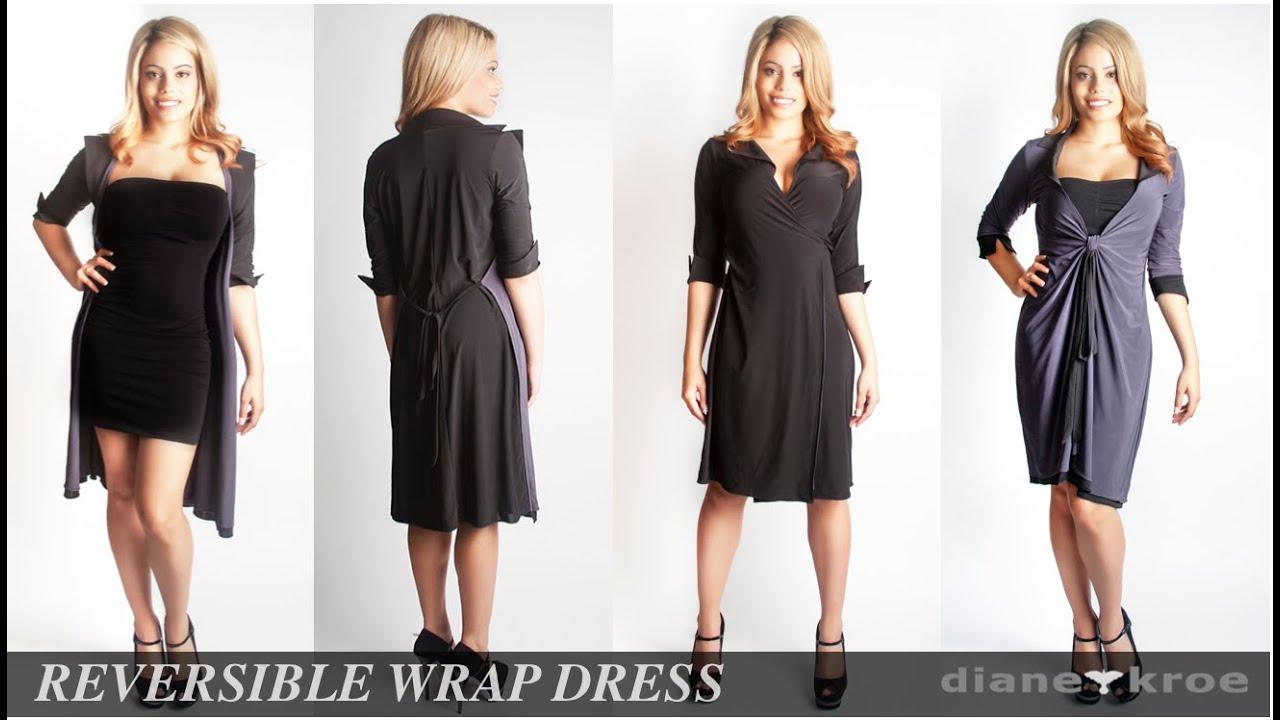 Reversible Wrap Dress