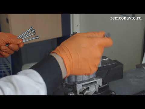 Ремонт компрессора кондиционера НИССАН.