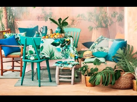 The Summer Vibes With The H&M Home Summer Collection 2017 🍍