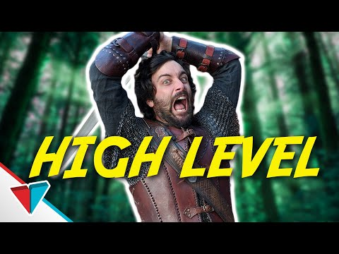 Attacking The Wrong Level NPC - High Level