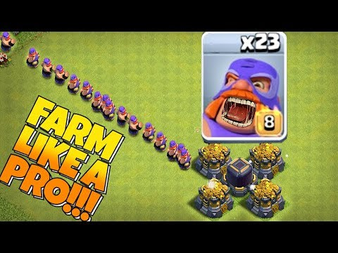 BEST Farming STRAT IN COC HISTORY!!
