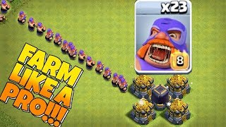 "BEST Farming STRAT IN COC HISTORY!!""Clash Of Clans"" PRO FARMING!!"