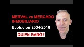 Merval vs Inmuebles. Quien gano?