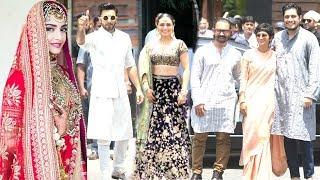 Aamir Khan With Son Junaid Khan, Ranveer Singh, Rani Mukherjee | Sonam  & Anand's Wedding Ceremony