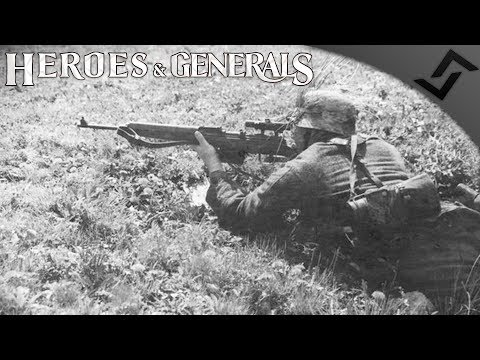 New Gun Sounds G43 - Heroes and Generals - G43 Semi-Auto Rifle Gameplay