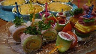 Несколько блюд для праздничного стола /Блюда к новогоднему столу