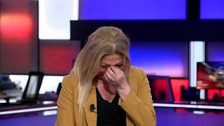 شاهد... لماذا تأثرت نجوى قاسم خلال حديثها على الهواء مباشرة مع مراسل الحدث من لبنان؟