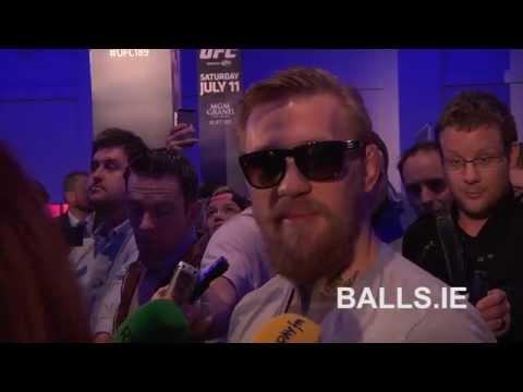 Conor McGregor Speaking In Irish