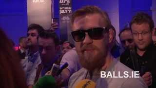 UFC's Conor McGregor Speaking In Irish. The Notorious Speaking His Native Language