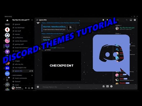 HOW TO DOWNLOAD Better Discord AND INSTALL THEMES FOR DISCORD / Tutorial