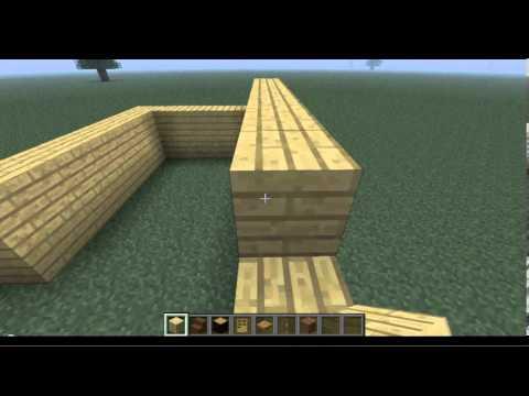 Minecraft como hacer una linda y peque a casa de madera - Como hacer casa de madera ...