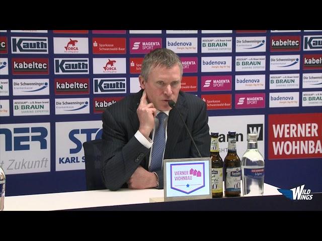 Pressekonferenz: Schwenninger Wild Wings-Düsseldorfer EG