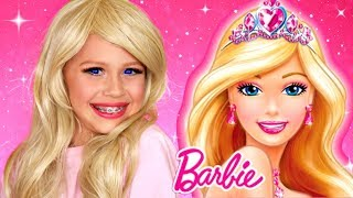 Barbie Makeup and Costume Transformation Tutorial