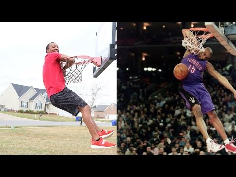 "Recreating The Greatest NBA ""DUNK CONTEST EVER"" Dunks Of All Time"