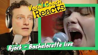 Vocal Coach REACTS - Bjork 'Bachelorette'