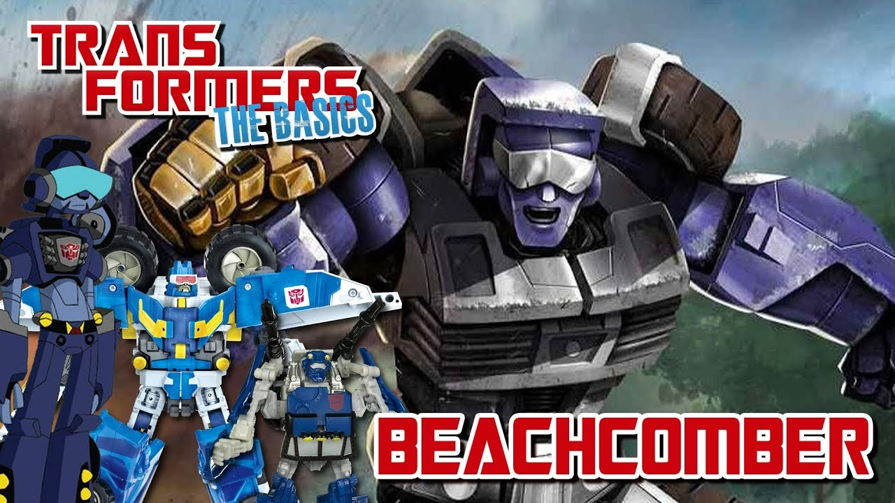Download TRANSFORMERS: THE BASICS on BEACHCOMBER