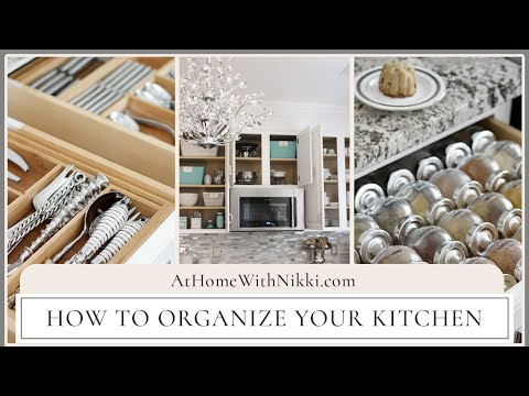 ORGANIZED KITCHEN TOUR | How To Organize Your Kitchen
