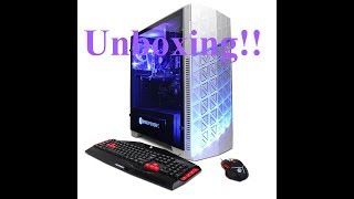 Unboxing my NEW PC | CyberPowerPC Gua 882