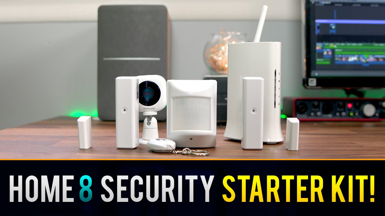 ultimate smart home security system home8 systems youtube