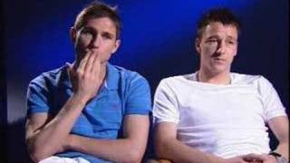 Frank Lampard and John Terry interview on chelsea