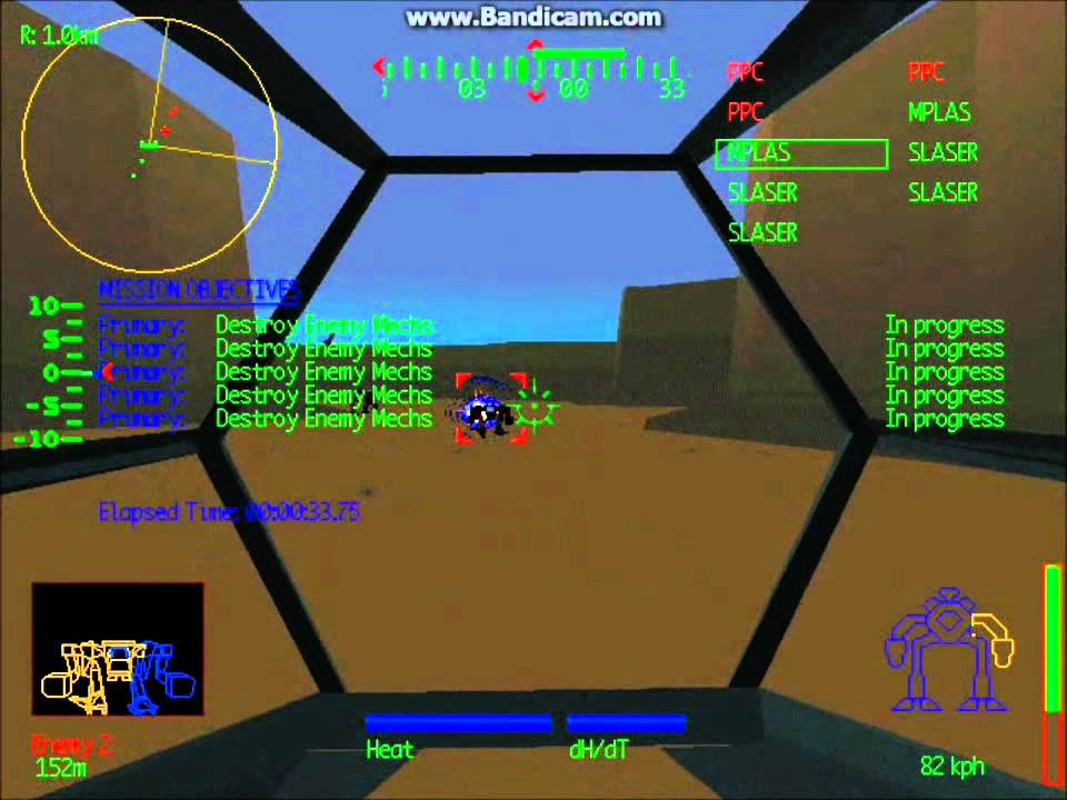 Mechwarrior 2 Gameplay Preview