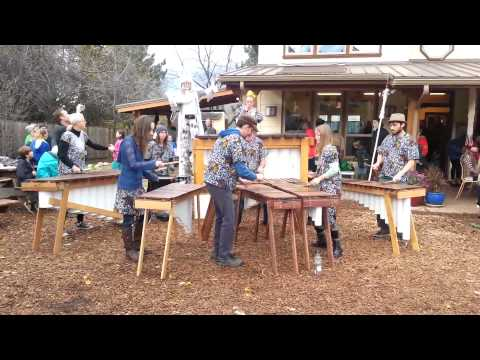 Rutendo Marimba plays Winter Faire at the Siskiyou School