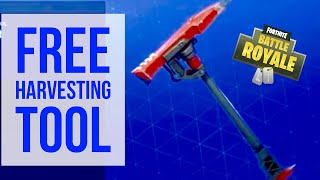 FREE FORTNITE HARVESTING TOOL! INSTIGATOR PICK AXE! TWITCH PRIME FORTNITE PACK!